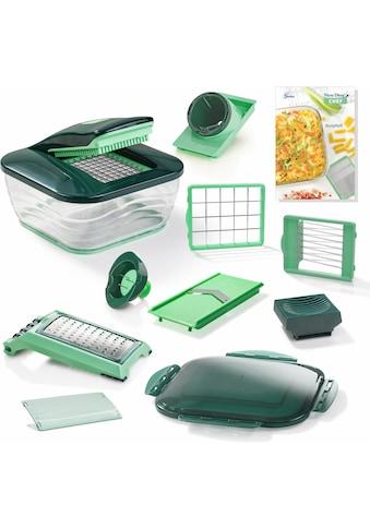 Genius Zerkleinerer »Nicer Dicer Chef«, 3300 ml Kunststoff-Auffangbehälter, 15-teilig kaufen