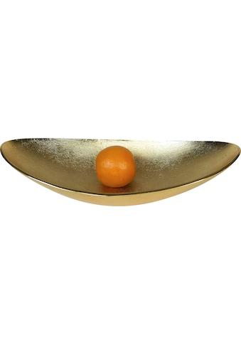 ARTRA Dekoschale »Lisa«, aus Aluminium, oval kaufen