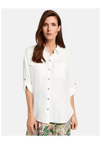 GERRY WEBER Bluse 3/4 Arm »Bluse mit Krempelfunktion« kaufen