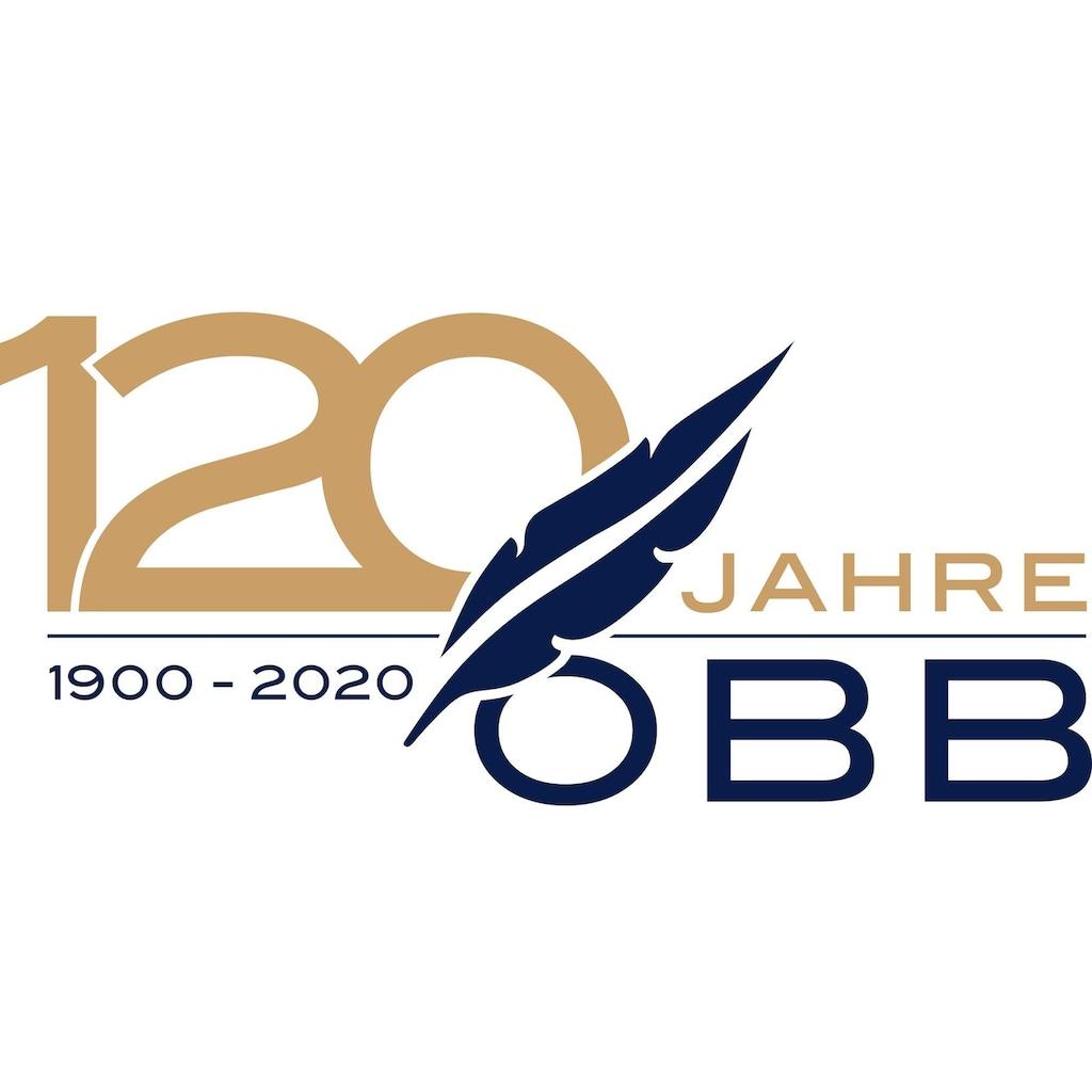 OBB Bett-Set »OBB, Edition 120 Jahre OBB Betten-Set, Bettdecke + Polster (2-tlg.)«