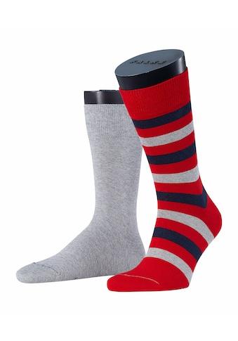Esprit Socken »Regular Stripe 2-Pack«, (2 Paar), mit hochwertiger Baumwolle kaufen