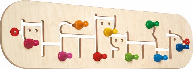 Kindergarderobe aus Holz