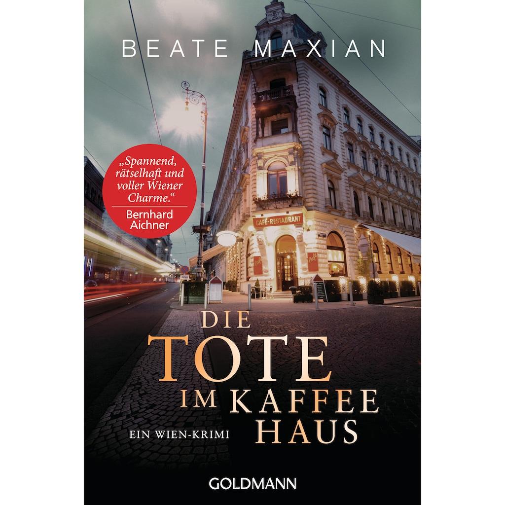 Buch »Die Tote im Kaffeehaus / Beate Maxian«