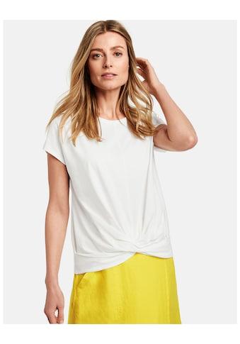 GERRY WEBER T - Shirt 1/2 Arm »Shirt mit Wickeleffekt« kaufen