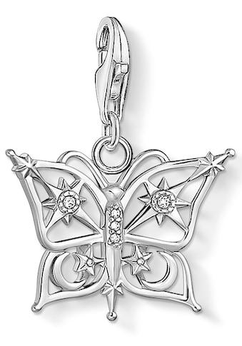 THOMAS SABO Charm-Einhänger »Schmetterling, 1852-051-14«, mit Zirkonia kaufen
