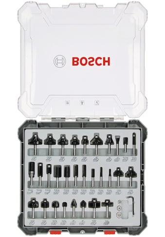 BOSCH Fräser-Set, 30-teilig, 6-mm-Schaft kaufen