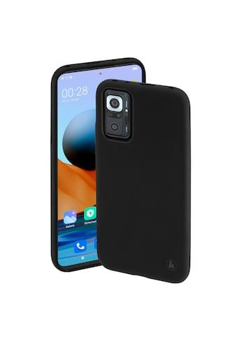 """Hama Backcover »Smartphone Hülle«, """"Finest Feel"""" für Xiaomi Redmi Note 10 Pro, Schw kaufen"""