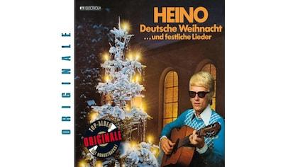 Musik - CD DEUTSCHE WEIHNACHT...UND F / Heino, (1 CD) kaufen