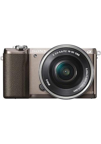 Sony »a5100 / ILCE - 5100L« Systemkamera (SEL - P1650, 24,3 MP, WLAN (Wi - Fi) NFC) kaufen