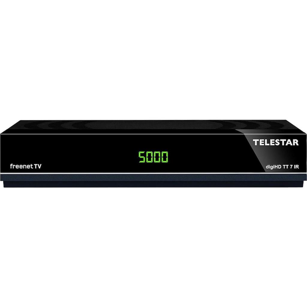 TELESTAR DVB-T2 HD Receiver »digiHD TT 7 IR«, mit freenet TV für 12 Monate