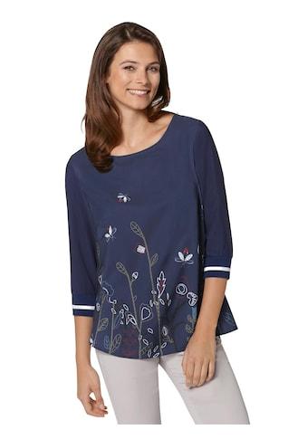 Ambria Bluse mit formgebenden Burstabnähern kaufen