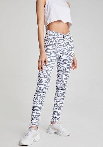 LTB High-waist-Jeans »TANYA X«, im allover Zebra-Design kaufen