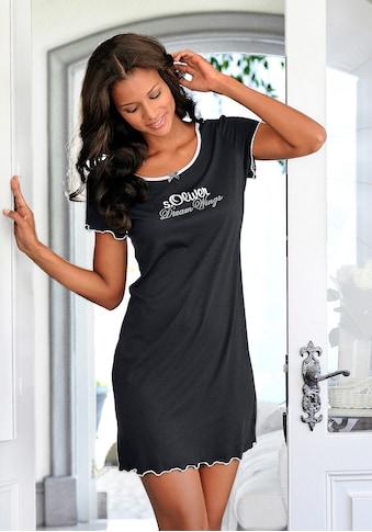 s.Oliver Bodywear Nachthemd, mit Rundhalsausschnitt kaufen