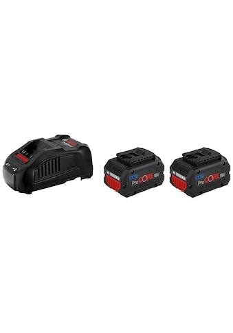 Bosch Professional Akku-Set »2 x ProCORE 18 V 5.5 Ah + GAL 1880 CV Professional«, für... kaufen