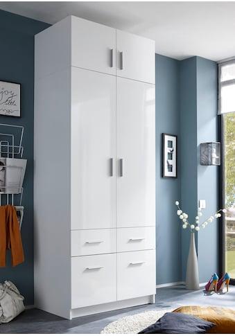 Schlafkontor Kleiderschrank »Hagen«, mit Aufsatz und Schubkästen kaufen