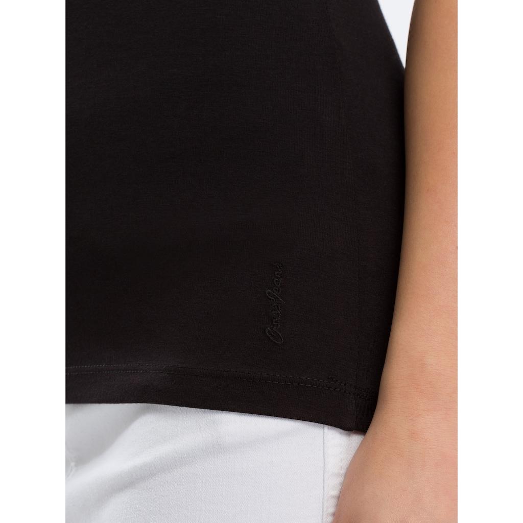 Cross Jeans® Tanktop »55159«, Legeres Basic