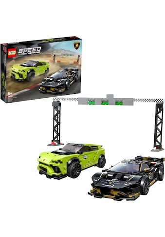 LEGO® Konstruktionsspielsteine »Lamborghini Urus ST-X & Lamborghini Huracán Super... kaufen