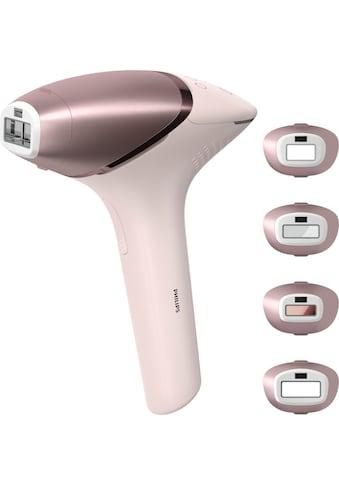 Philips IPL-Haarentferner »BRI958/00 Lumea IPL 9000 Series«, 450.000 Lichtimpulse, 4 Aufsätze (Achseln, Bikinizone, Körper, Gesicht), mit SmartSkin Sensor, mit SenseIQ Technologie kaufen