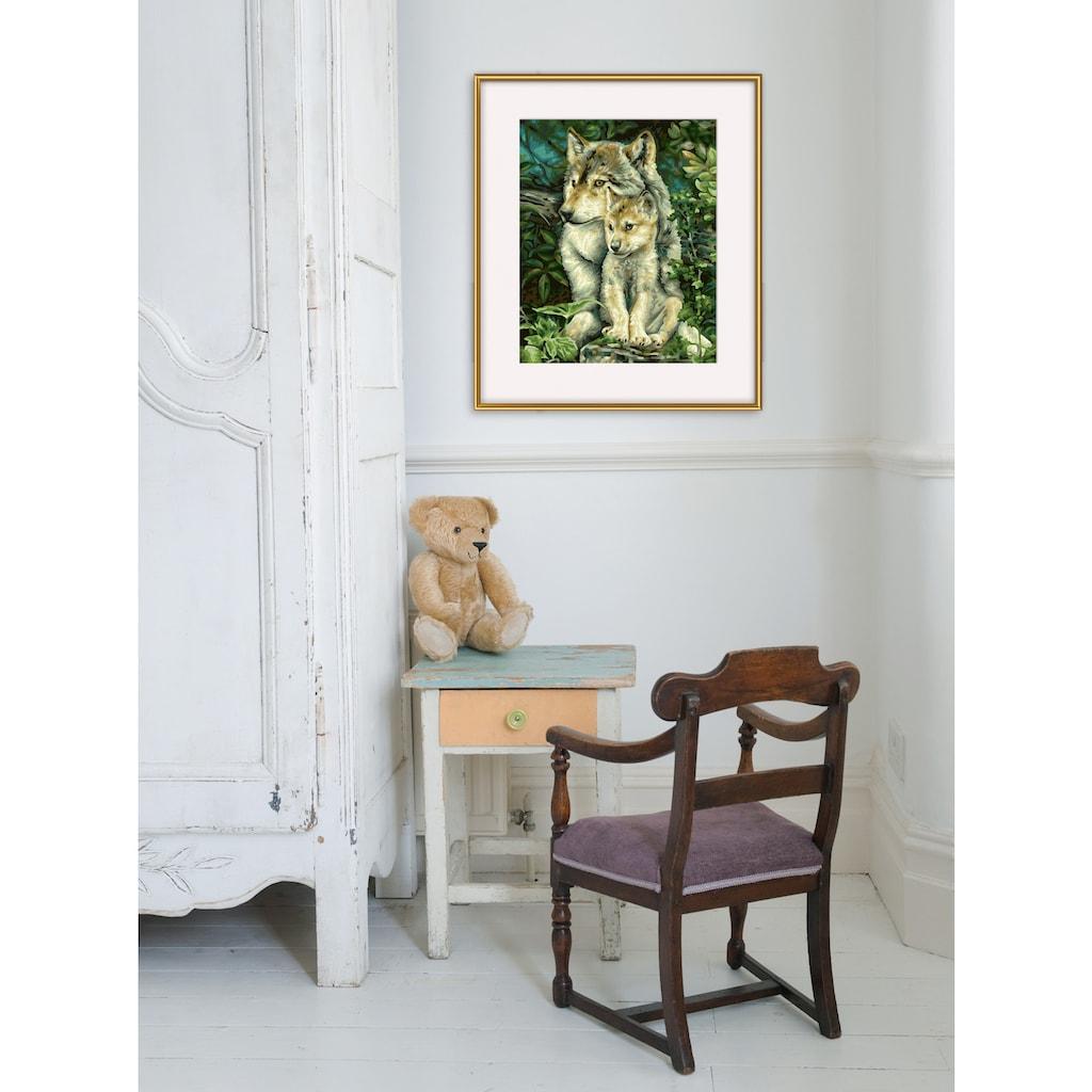 Schipper Malen nach Zahlen »Meisterklasse Klassiker - Wolfsmutter«, Made in Germany