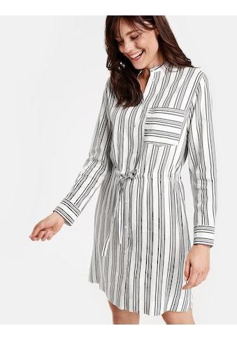 GERRY WEBER Kleid Gewebe »Blusenkleid mit Streifen« kaufen