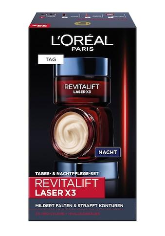 """L'ORÉAL PARIS Gesichtspflege - Set """"RevitaLift Laser X3 Tag und Nacht"""", 2 - tlg. kaufen"""