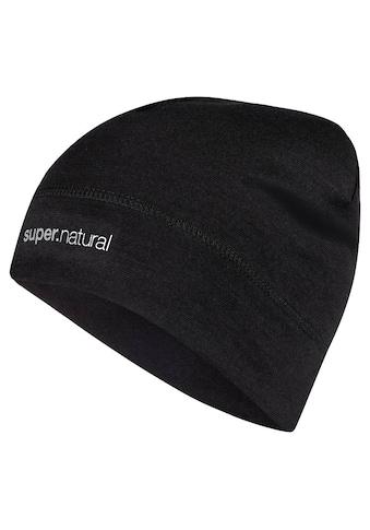 SUPER.NATURAL Jerseymütze »UNSTOPPABLE CAP«, windabweisender Merino-Materialmix kaufen