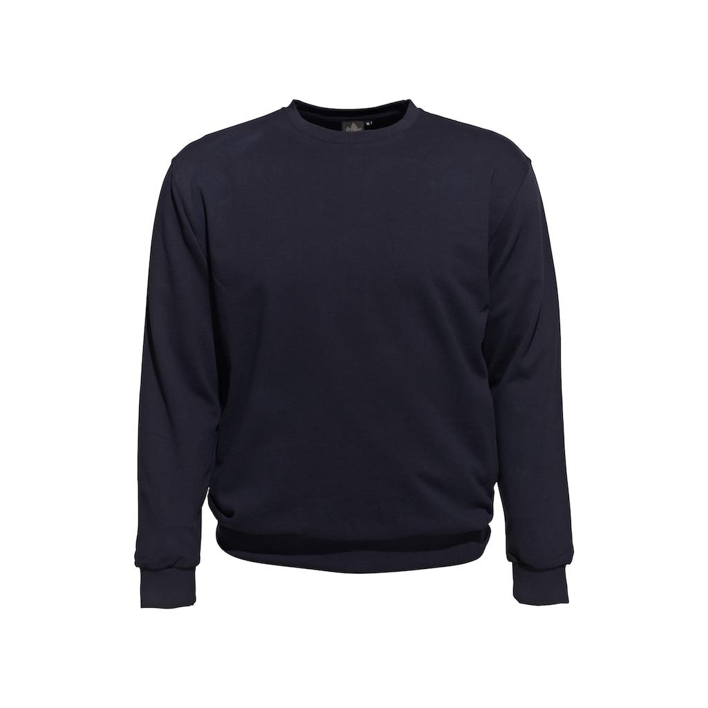 AHORN SPORTSWEAR Sweatshirt im schlichten Design