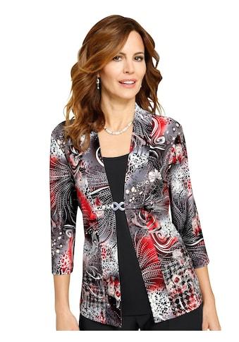 Lady Shirt mit Rundhals - Ausschnitt kaufen
