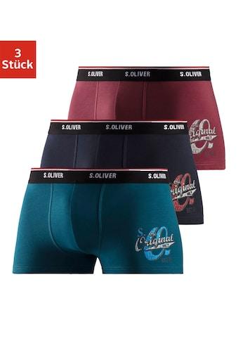 s.Oliver Bodywear Boxer, mit Print auf dem Bein kaufen