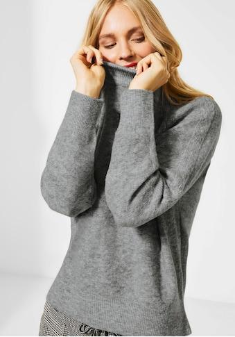 STREET ONE Rollkragenpullover »Heavy knit« kaufen
