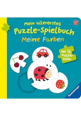 Buch Mein allererstes Puzzle - Spielbuch: Meine Farben / Kathrin Orso; Monika Neubacher - Fesser kaufen