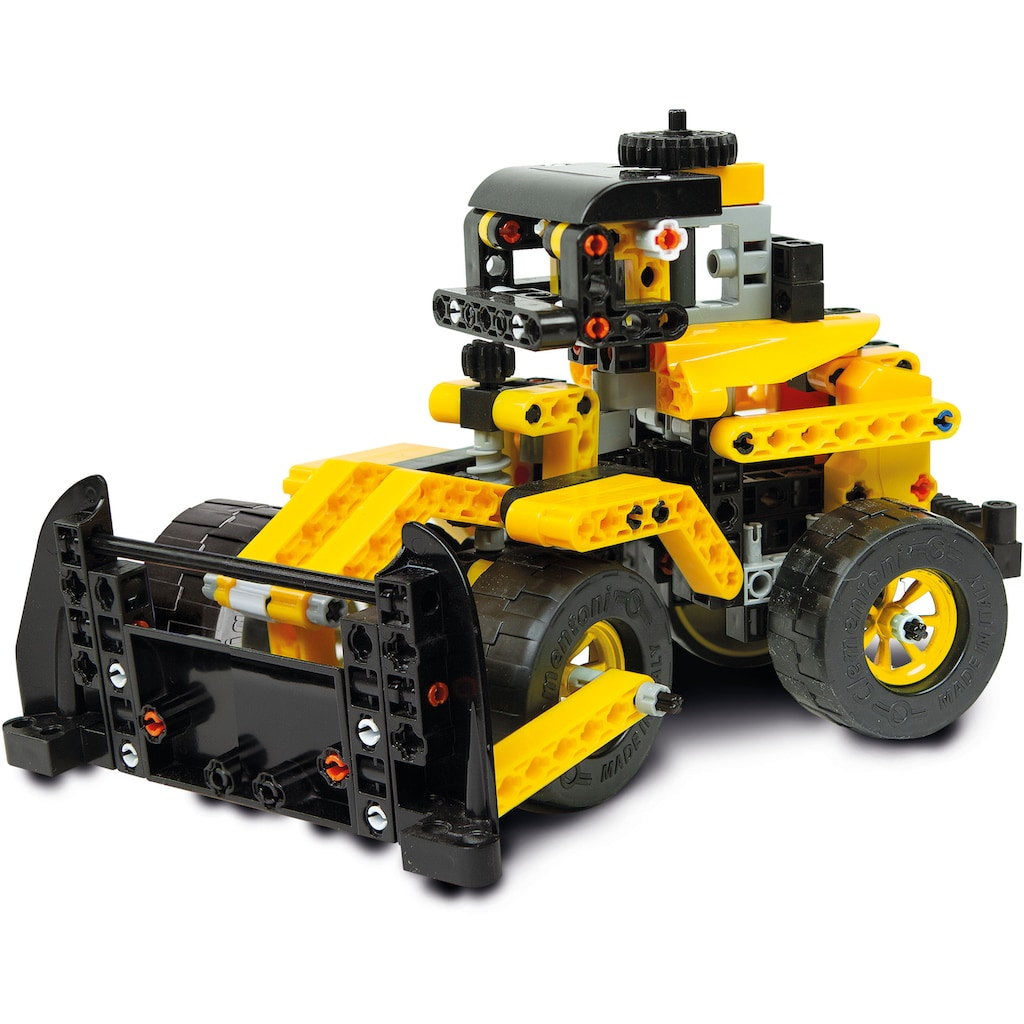 Clementoni® Modellbausatz »Galileo - Construction Challenge - Bulldozer«, Made in Europe