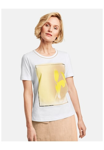 GERRY WEBER T - Shirt 1/2 Arm »Shirt mit Frontdruck« kaufen