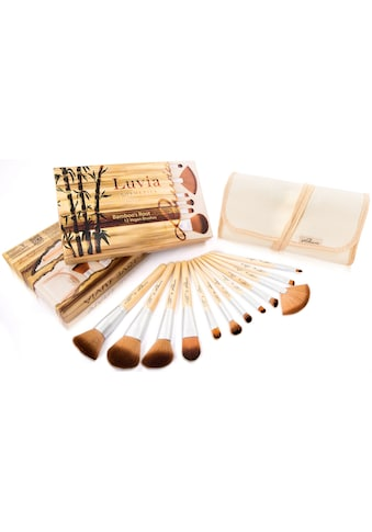 Luvia Cosmetics Kosmetikpinsel-Set »Bamboo's Root«, (12 tlg., zzgl.... kaufen