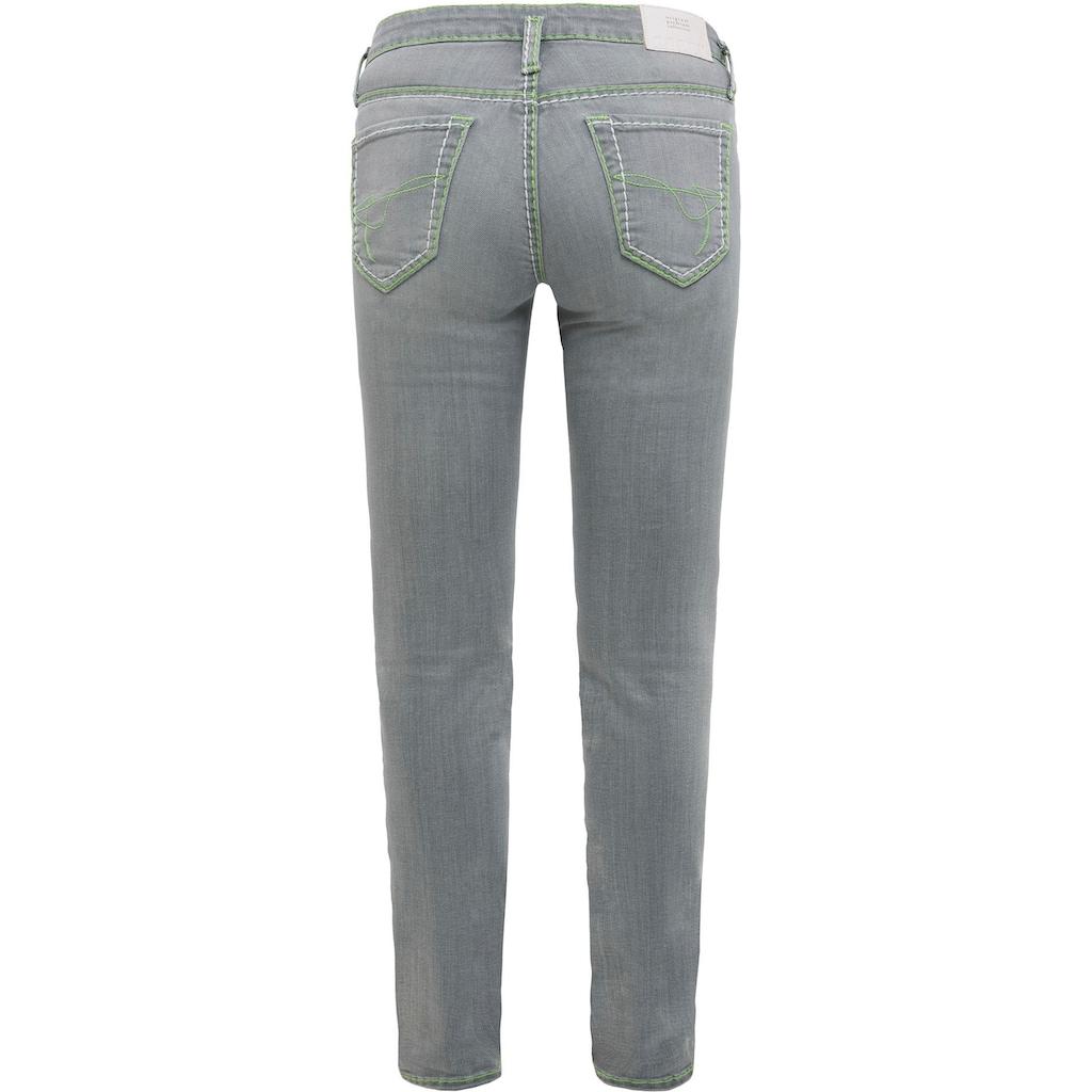 SOCCX Slim-fit-Jeans »KA:RA«, mit Kontrast-Nähten