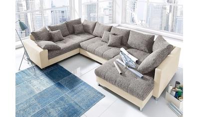 Nova Via Wohnlandschaft »Tobi«, wahlweise mit Kaltschaum (140kg Belastung/Sitz) und... kaufen