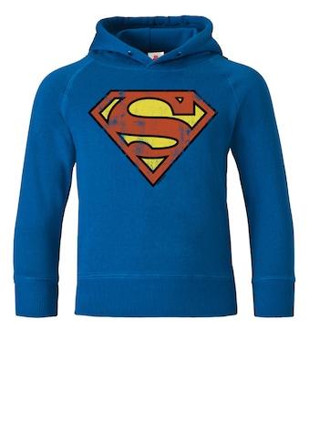 LOGOSHIRT Kapuzensweatshirt, mit Superman-Logo kaufen