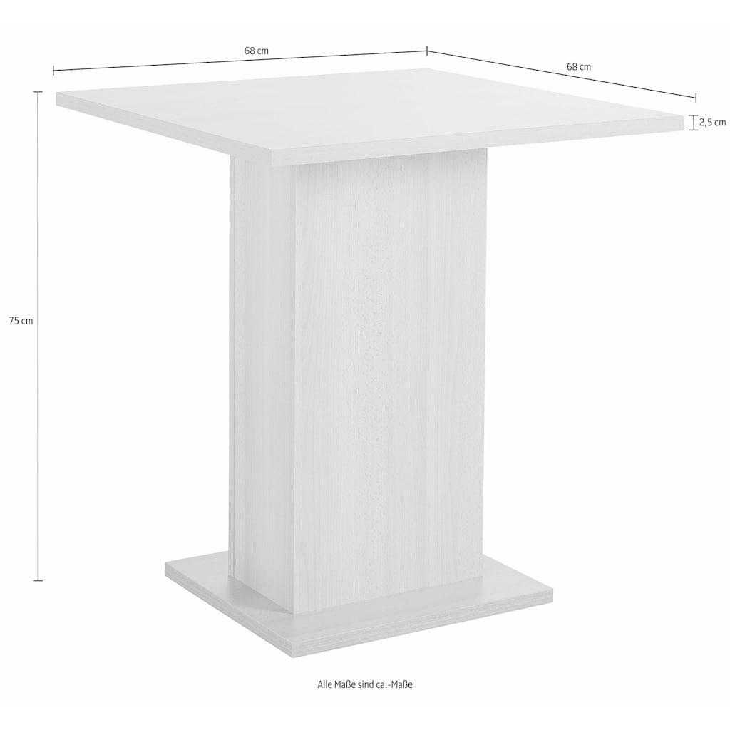 SCHÖSSWENDER Eckbankgruppe »Anna 2«, (Set, 4 tlg.), mit 2 Stühlen mit massiven Gestell