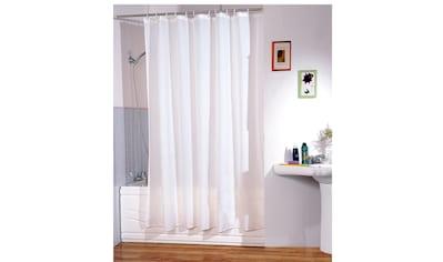 MSV Duschvorhang »Weiß«, Breite 180 cm kaufen