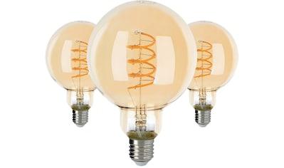 SPOT Light LED-Filament »LED-Leuchtmittel«, E27, 3 St., Extra-Warmweiß, ausgezeichnete... kaufen