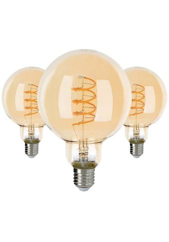 SPOT Light LED-Filament »LED-Leuchtmittel«, E27, 3 St., Extra-Warmweiß, ausgezeichnete Lichteffizienz, extra-warmweiß, 2200K, Vintage-Leuchtmittel kaufen