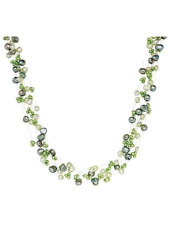 Valero Pearls Perlenkette »A1065«, (1 tlg.), aus Süßwasser-Zuchtperlen kaufen