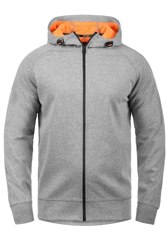 BLEND ATHLETICS Funktions-Kapuzensweatjacke »Lucao«, Sportjacke mit verlängerter Rückenpartie kaufen