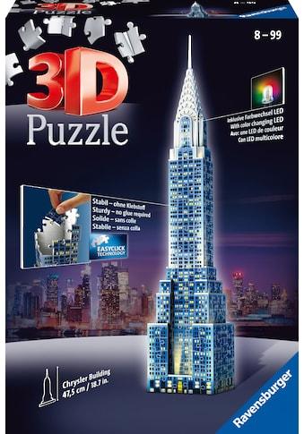 Ravensburger 3D-Puzzle »Chrysler Building«, mit Leuchtmodul inkl. LEDs; Made in... kaufen