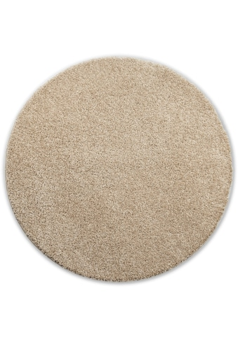 Home affaire Hochflor-Teppich »Viva«, rund, 45 mm Höhe, gewebt, Wohnzimmer kaufen