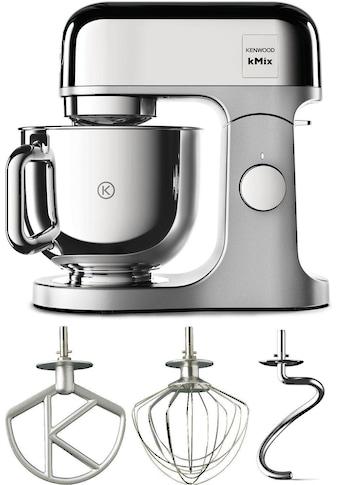 KENWOOD Küchenmaschine KMX760CH kMix Premium Edition Chrome mit 3 - tlg. Pâtisserie - Set, 1000 Watt, Schüssel 5 Liter kaufen