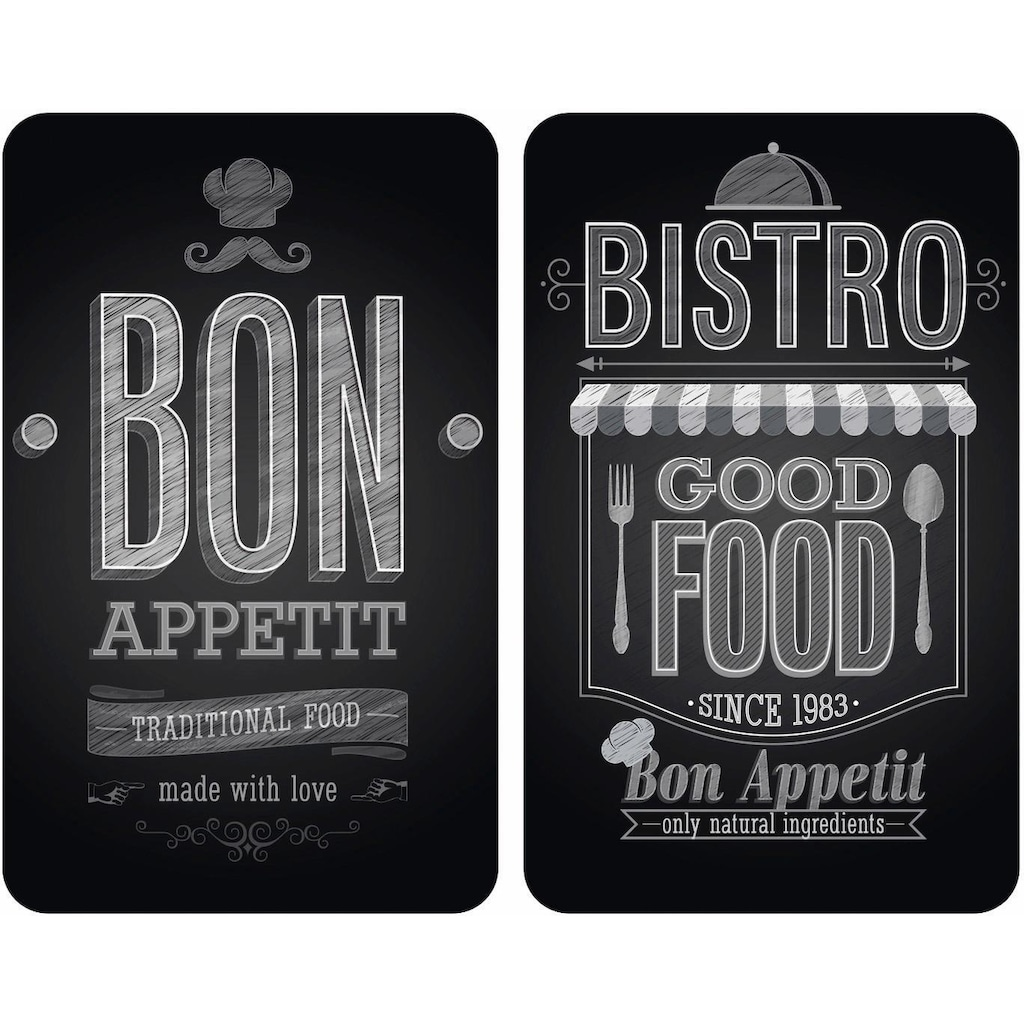 WENKO Herd-Abdeckplatte »Bon Appetit«, rutschfesten Spezialfüße