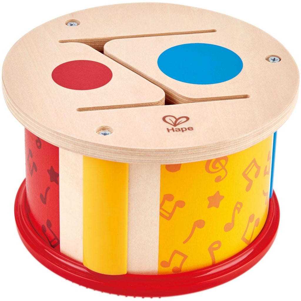 Hape Spielzeug-Musikinstrument »Doppelseitige Kinder Trommel«