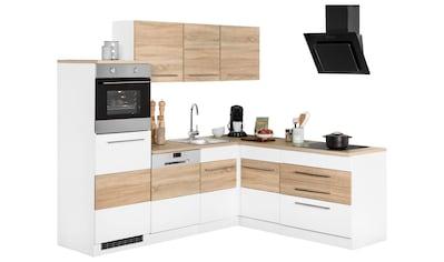 Winkelküche »Trient«, mit E - Geräten, Stellbreite 230 x 190 cm kaufen