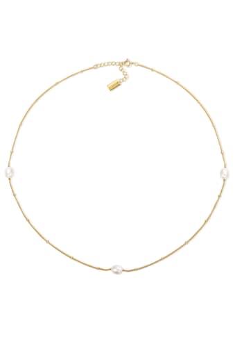 AILORIA Perlenkette »SUKI gold/weiße Perle«, 925 Sterling Silber vergoldet Süßwasserperle kaufen